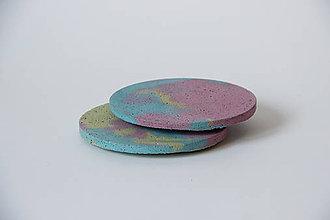Pomôcky - Podtácky /// barevné - 7703229_