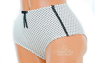 Bielizeň/Plavky - Dámske nohavičky klasické extra vysoký pás - 7702023_