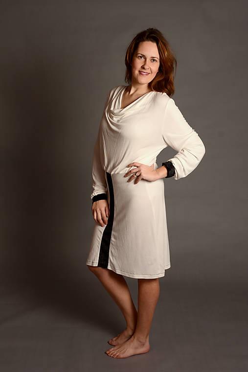 """Šaty - Dámské šaty """"BasicBambooDress"""" - OA-B-026 - 7704538_"""