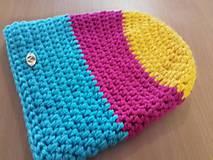 Čiapky - HAPPY Color čiapka - 7702200_