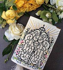 Kabelky - Kabelka v podobě knihy The Secret Garden - 7703092_