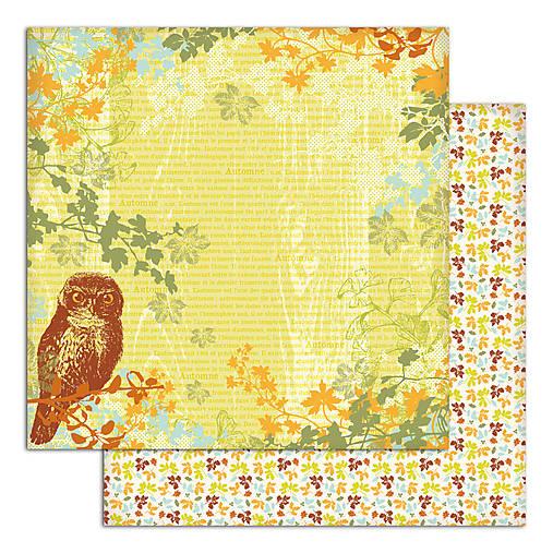 PS115_5 Obojstranný papier č.5 30,5 x 30,5 cm 180g/m² LISTY A PRÍRODA