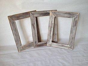 Rámiky - 3 ks set VEĽKÝ Rámiky 29 x 21 cm - 7704190_