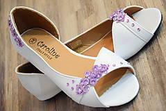 - Svadobné balerínky - 7702306_