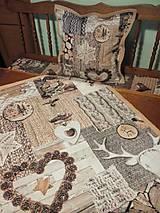 Úžitkový textil - Obrus škandinávsky - 7705185_