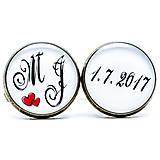Šperky - Manžetové gombíky 037 - 7704515_