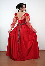 Šaty - Red Ball Dress - 7702292_