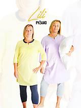 Pyžamy a župany - Pyžamo Lili - fialová - 7701849_