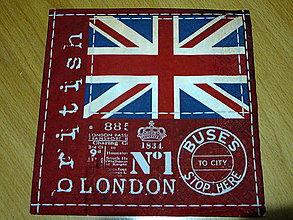 Papier - Servítka LONDON - 7701880_