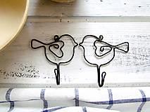 Nábytok - vešiak - vtáča - 7704260_