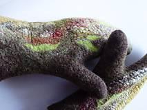 Rukavice - Dámske rukavice - palčiaky - 7702715_