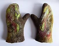 Rukavice - Dámske rukavice - palčiaky - 7702718_