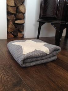 Úžitkový textil - deka s nadychom škandinávie - 7702580_