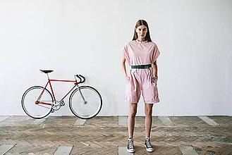 Iné oblečenie - pink pink overall - 7701925_
