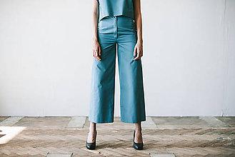 Nohavice - line line trousers - 7704939_