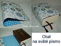 Úžitkový textil - obal na sväté písmo - 7702779_