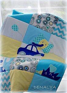 Textil - Deka Slon na cestách 70x90cm - 7705943_