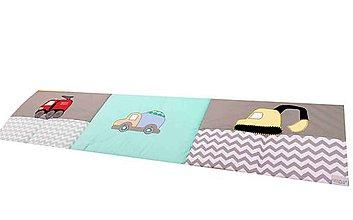 Úžitkový textil - Mantinel zástena - autá 50x200cm - 7706853_