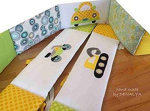 Úžitkový textil - Nizky  mantinel na posteľ Ikea Gulliver- 160/70/70 - 7708589_