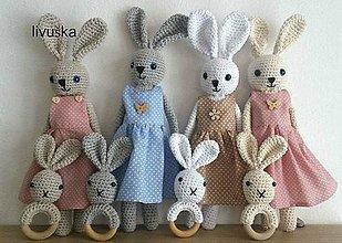 Hračky - slečna zajková - 7706348_