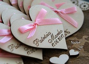 Darčeky pre svadobčanov - Magnetky na želanie - 7709569_