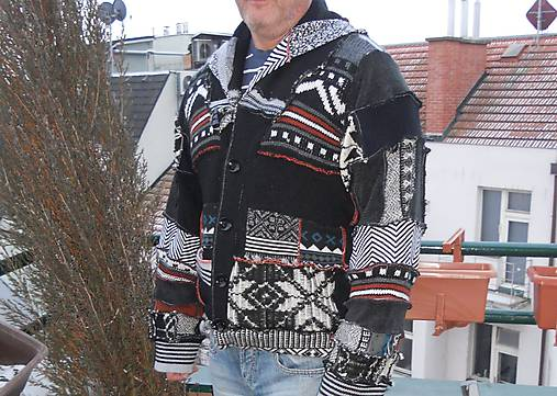 1cf97dd47207 Leloš pánsky - sveter 7.   LEL-handmade - SAShE.sk - Handmade Oblečenie