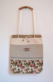 Iné tašky - Romantická taška letná-batôžtek - 7707993_