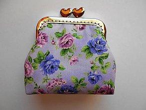 Peňaženky - Romantická peňaženka - 7708398_