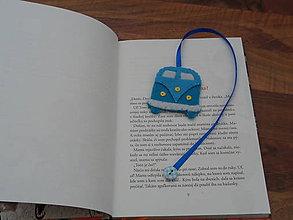 Drobnosti - originálna záložka do kníh autíčko - 7707654_