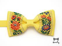 Doplnky - Folkový motýlik Tajovský - 7707406_