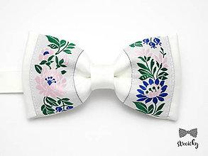 Doplnky - Folkový motýlik Figuli - 7709085_