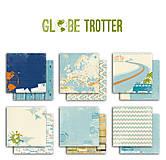 Papier - PIL46_1 Obojstranný papier č.1  30,5 x 30,5 cm 180g/m² CESTOVATEĽ - 7705711_