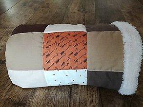 Textil - Detská deka do kočíka Šípky 60x84 - 7708572_