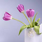 - Kvet 2 - 4cm žlté zlato - 7708375_