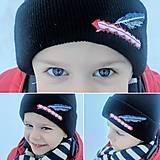 Čiapky - Vyšívaná zimná čiapka GORAL - 7708376_