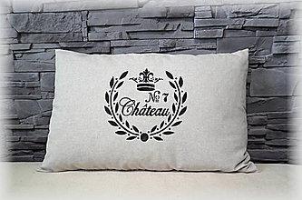 Úžitkový textil - Vintage obliečka Chateau - 7709121_