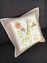 Úžitkový textil - Vankúš - žirafa - 7709587_