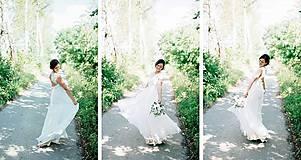 Šaty - Svadobné šaty navrhované a šité na mieru - 7709624_