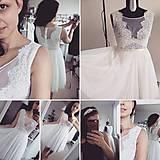 Šaty - Svadobné šaty navrhované a šité na mieru - 7709625_
