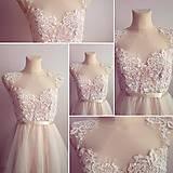 Šaty - Svadobné šaty navrhované a šité na mieru - 7709626_