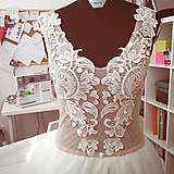 Šaty - Svadobné šaty navrhované a šité na mieru - 7709627_