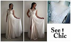 Šaty - Svadobné šaty navrhované a šité na mieru - 7709628_