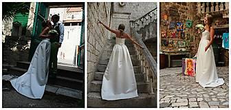 Šaty - Svadobné šaty navrhované a šité na mieru - 7709632_