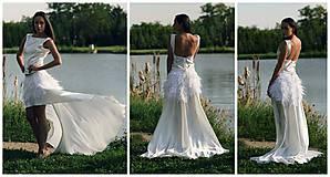 Šaty - Svadobné šaty navrhované a šité na mieru - 7709697_