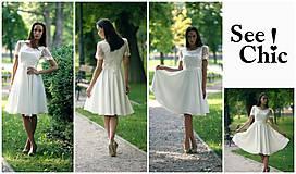 Šaty - Svadobné šaty navrhované a šité na mieru - 7709698_
