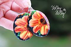 Náušnice - Kvety - 7706686_