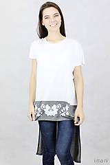 Tričká - Dámske tričko BAMBUS 06 potlač FOLK - 7708696_
