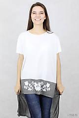 Tričká - Dámske tričko BAMBUS 06 potlač FOLK - 7708702_