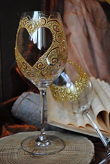Nádoby - Svadobné poháre - 7710449_