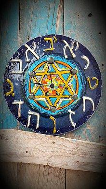 Hodiny - Hebrejské hodiny - 7710912_